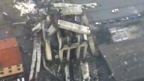 (14-08-18) Al menos 35 muertos por el desplome de un viaducto en una autopista en Génova