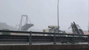(14-08-18) Mueren al menos una treintena de personas tras desplomarse un puente de la autopista A10 en Génova