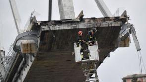 (15-08-18) Ascienden a 39 los fallecidos en el derrumbe del viaducto en Génova