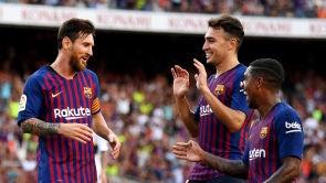(15-08-18) El Barcelona se pasea ante Boca Juniors y gana el trofeo Joan Gamper