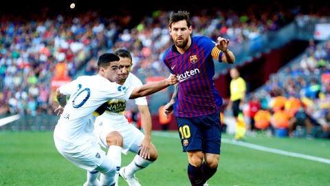 Partido: F.C. Barcelona - Boca Juniors