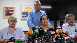"""(16-08-18) Las víctimas de los atentados del 17-A: """"Nos hemos sentido engañados, abandonados y tristes"""""""