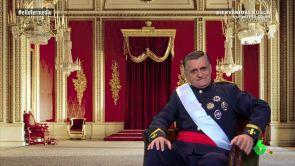 """(27-08-18) Wyoming I pide convertirse en el rey de España: """"Me comprometo a no tener amigas especiales y no romperme la cadera"""""""