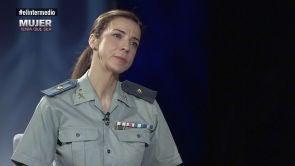 """(28-08-18) Silvia Gil, sobre el """"peso"""" que siente al ser mujer en la Guardia Civil: """"No quiero que digan que las mujeres no servimos para esto si yo cometo un error"""""""