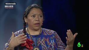 """(29-08-18) Lolita Chávez, líder indígena en Guatemala: """"Ahí es delito social que las mujeres miremos a los ojos, debemos tener la vista en el suelo"""""""
