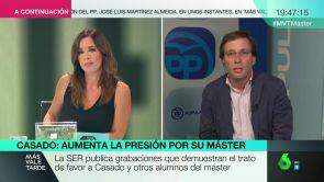 """(12-09-18) Martínez Almeida: """"En el PP tenemos total confianza en que el caso del máster de Casado se archivará"""""""