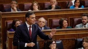 """(12-09-18) Sánchez defiende la """"ejemplaridad"""" de su Gobierno en su primera sesión de control en el Congreso"""