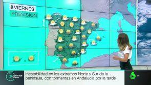(13-09-18) Inestabilidad en los extremos norte y sur de la península