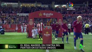 (13-09-18) El Real Madrid en contra del partido en Estados Unidos