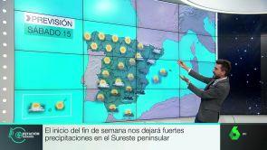 (14-09-18) El inicio del fin de semana dejara precipitaciones en el sureste