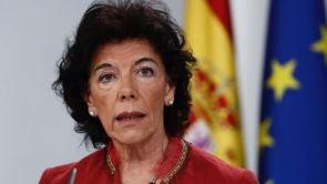 """(14-09-18) El Gobierno exige a Ciudadanos y al PP que pidan perdón a Sánchez por el """"acoso"""" con su tesis"""