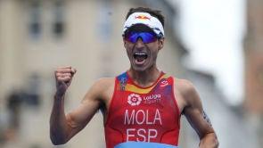 """(16-09-18) Mario Mola: """"Es increíble, nunca habría imaginado tener tres títulos mundiales"""""""