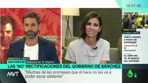 """(17-09-18) Ana Pastor: """"Muchas de las promesas que el presidente hace no las va a poder sacar adelante"""""""