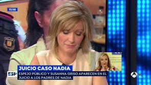 """(03-10-18) El disgusto de Susanna Griso con el 'caso Nadia': """"Me parece alucinante que hagan creer que estábamos conchabados con la estafa"""""""