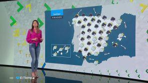 (13-10-18) Posibilidad de lluvias fuertes en cualquier punto de la Península