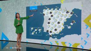 (14-10-18) Mañana, precipitaciones en Navarra, Aragón, Cataluña, Baleares y Andalucía