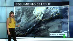 (14-10-18) Los restos de Leslie se alejan y ahora llega el frío