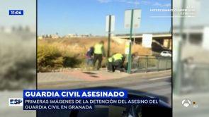 (15-10-18) Las imágenes de la detención del autor del tiroteo que ha acabado con la vida de un Guardia Civil