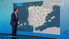 (15-10-18) Chubascos fuertes en Andalucía y lluvias en Cataluña y Baleares
