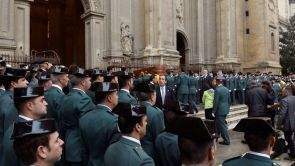 (16-10-18) Funeral por el Guardia Civil asesinado de un disparo en Granada