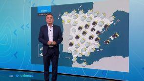 (18-10-18) Predominio de cielos nubosos en la mayor parte del país con precipitaciones en el área mediterránea