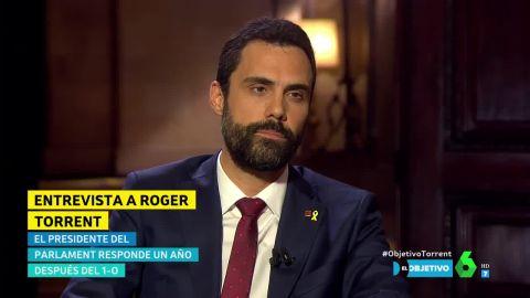 (21-10-18) El president del Parlament, Roger Torrent
