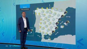 (14-11-18) Precipitaciones localmente fuertes o persistentes en el área mediterránea