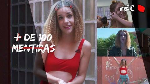 Veki Velilla, Ángela en 'Más de 100 mentiras'