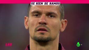 """(16-11-18) El enésimo ataque de Lovren a Sergio Ramos: """"Le he matado con el codo"""""""