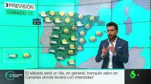 (16-11-18) Día tranquilo salvo en Canarias donde lloverá con intensidad