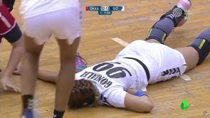 (17-11-18) La salvaje agresión que sufrió Mireya González durante un partido de balonmano