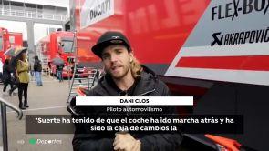 """(18-11-18) Dani Clos y Juncadella hablan sobre el accidente de Sophia Foelsch: """"Ha tenido suerte de salir catapultada"""""""