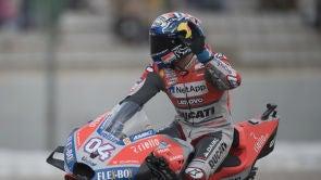 (18-11-18) Dovizioso vence en Valencia en el día de la despedida de Dani Pedrosa