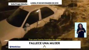 (19-11-18) Fallece una mujer de 83 años tras inundarse su vivienda por las fuertes lluvias registradas en Galicia