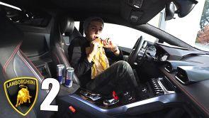 Pasando la noche en un Lamborghini   Parte 2