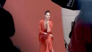 Eva González en la sesión de fotos oficial como presentadora de 'La Voz Antena 3'