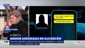 """(27-11-18) Los mensajes de WhatsApp de la joven que apuñaló a una niña de 17 años en Alcorcón: """"Voy a pagar para que te maten"""""""