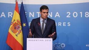 (01-12-18) Pedro Sánchez no ve razones para la huelga de hambre y garantiza un juicio justo