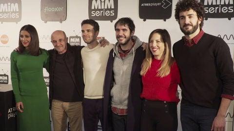 Los protagonistas de 'Gente Hablando' comparten su experiencia en el MiM Series de Madrid
