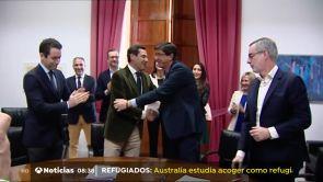 (10-01-19) Moreno logra el apoyo de Cs y Vox para su investidura al frente de un gobierno PP-Cs