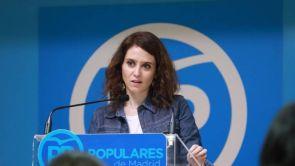 (11-01-19) Isabel Diaz Ayuso y José Luis Martínez-Almeida, candidatos del PP a la Comunidad de Madrid y al Ayuntamiento