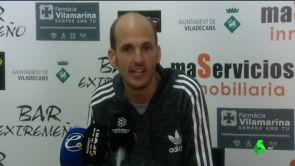 """(13-01-19) El entrenador del Viladecans estalla contra el Andorra de Piqué: """"Si vienen hace 15 días aquí no ganan"""""""