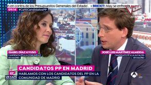 (14-01-19) Isabel Díaz Ayuso y José Luis Martínez Almeida