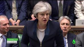 (15-01-18) El Parlamento británico rechaza el acuerdo de Brexit que May negoció con la UE
