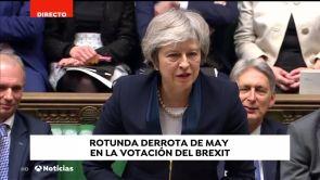 (15-01-19) El Parlamento británico rechaza el acuerdo sobre el 'Brexit'