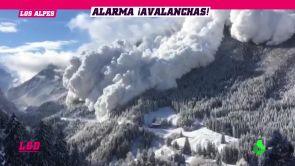 (16-01-19) Se disparan las alarmas en las estaciones de esquí por el incremento de avalanchas