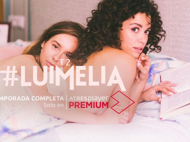 CON LA L: Serie que tienes completa en #ATRESplayerPREMIUM, que lo está petando y que trata sobre un amor sin barreras.  #LUIMELIA 🌈💕