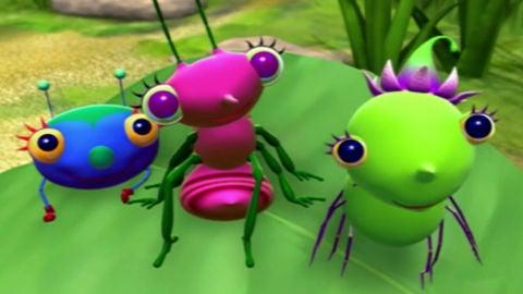 Miss Spider – Los alegres amigos de la Sra. Araña