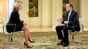 Entrevista a Mariano Rajoy en el Palacio de la Moncloa
