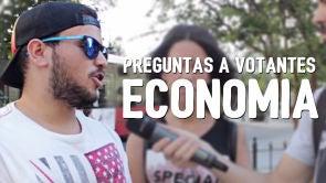 Preguntas a votantes: Economía